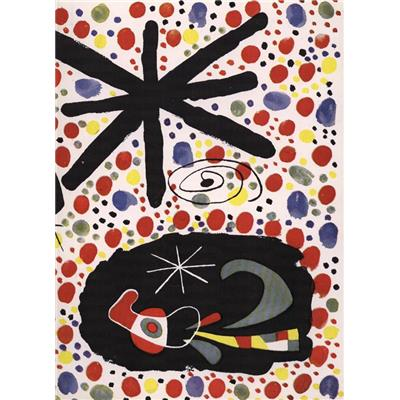 CONSTELLATIONS by JOAN MIRO et THE ATMOSPHERE MIRO - André Breton et James Johnson Sweeney (Pierre Matisse Gallery et George Wittenborn, Inc.)